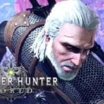 Geralt of Rivia arrives in Monster Hunter: World