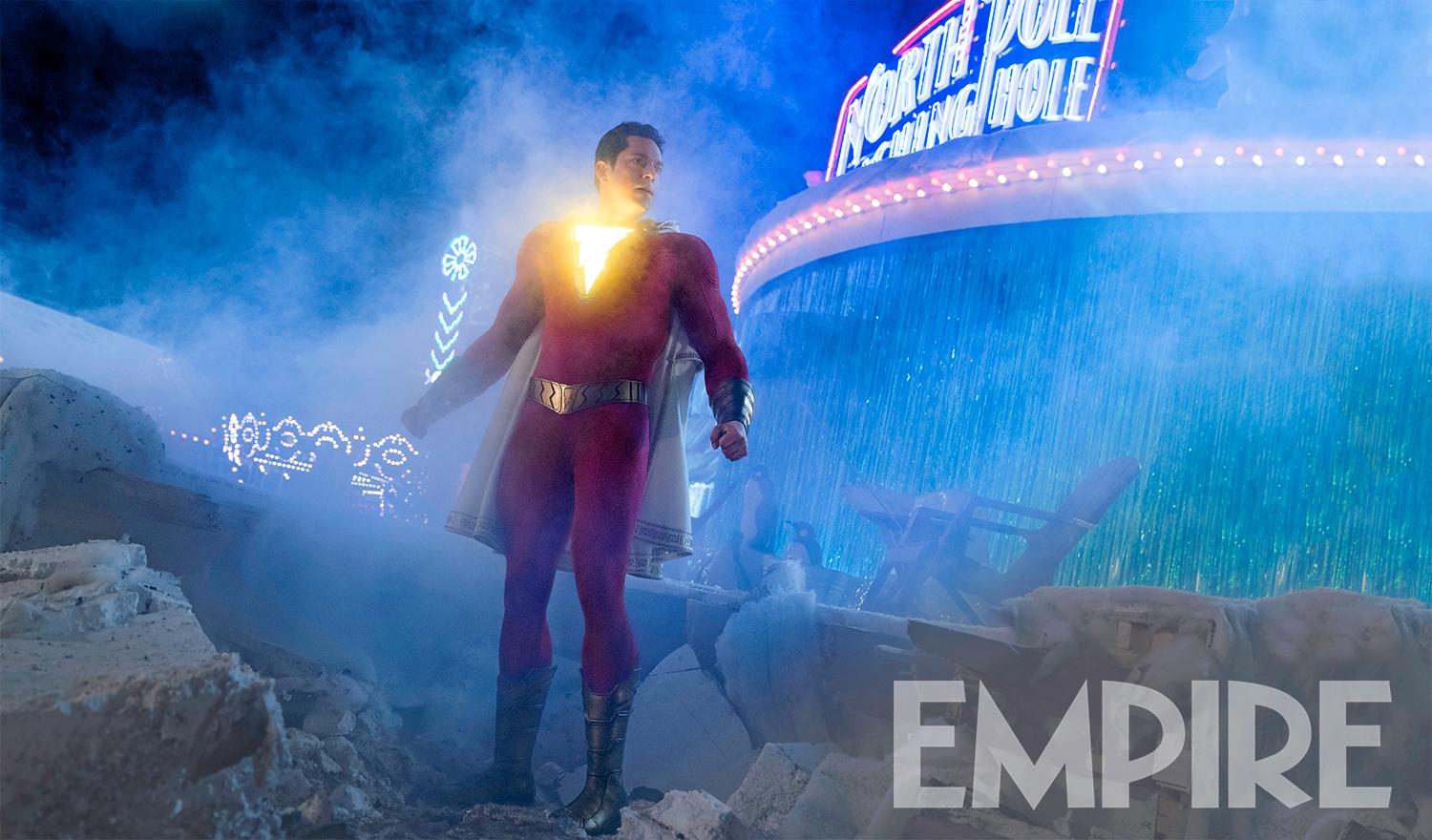 New Shazam Image Features Zachary Levi S Superhero