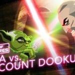 Yoda battles Count Dooku in latest Star Wars: Galaxy of Adventures short