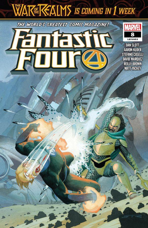 Comic Book Review – Fantastic Four #8