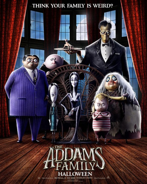 The Addams Family animated movie gets a first poster