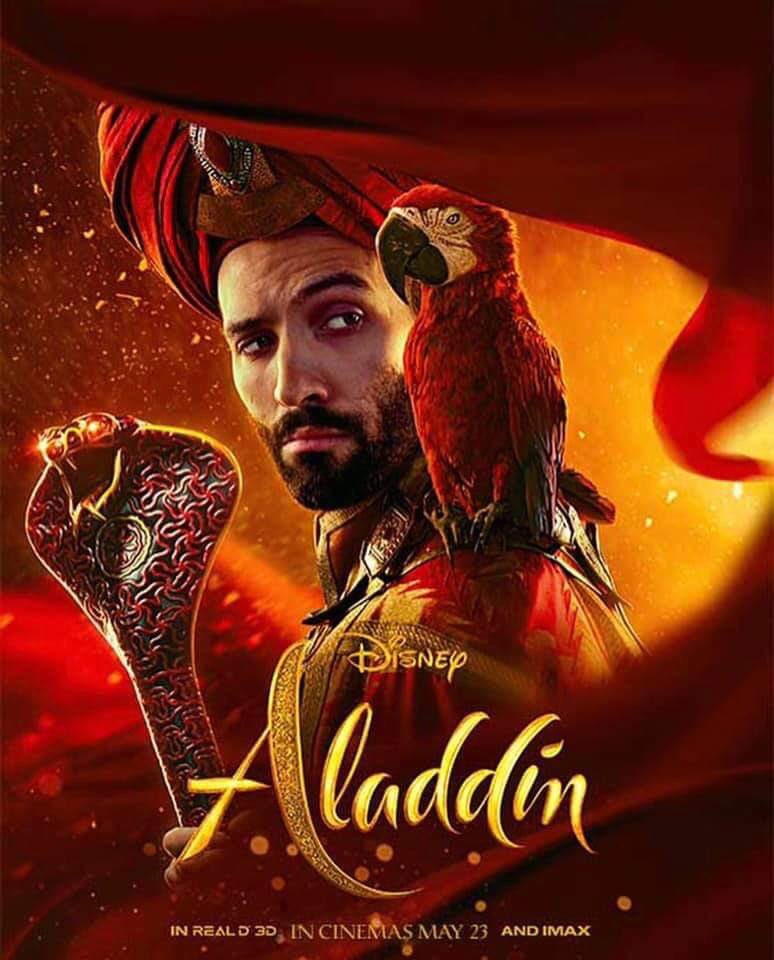 disney u0026 39 s aladdin gets four new character posters