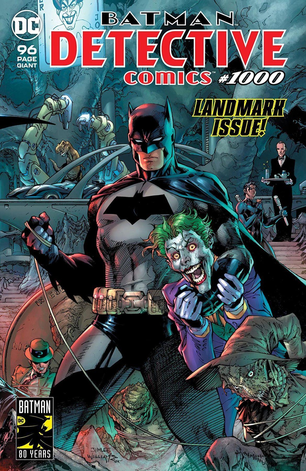 detective comics 1000 comic