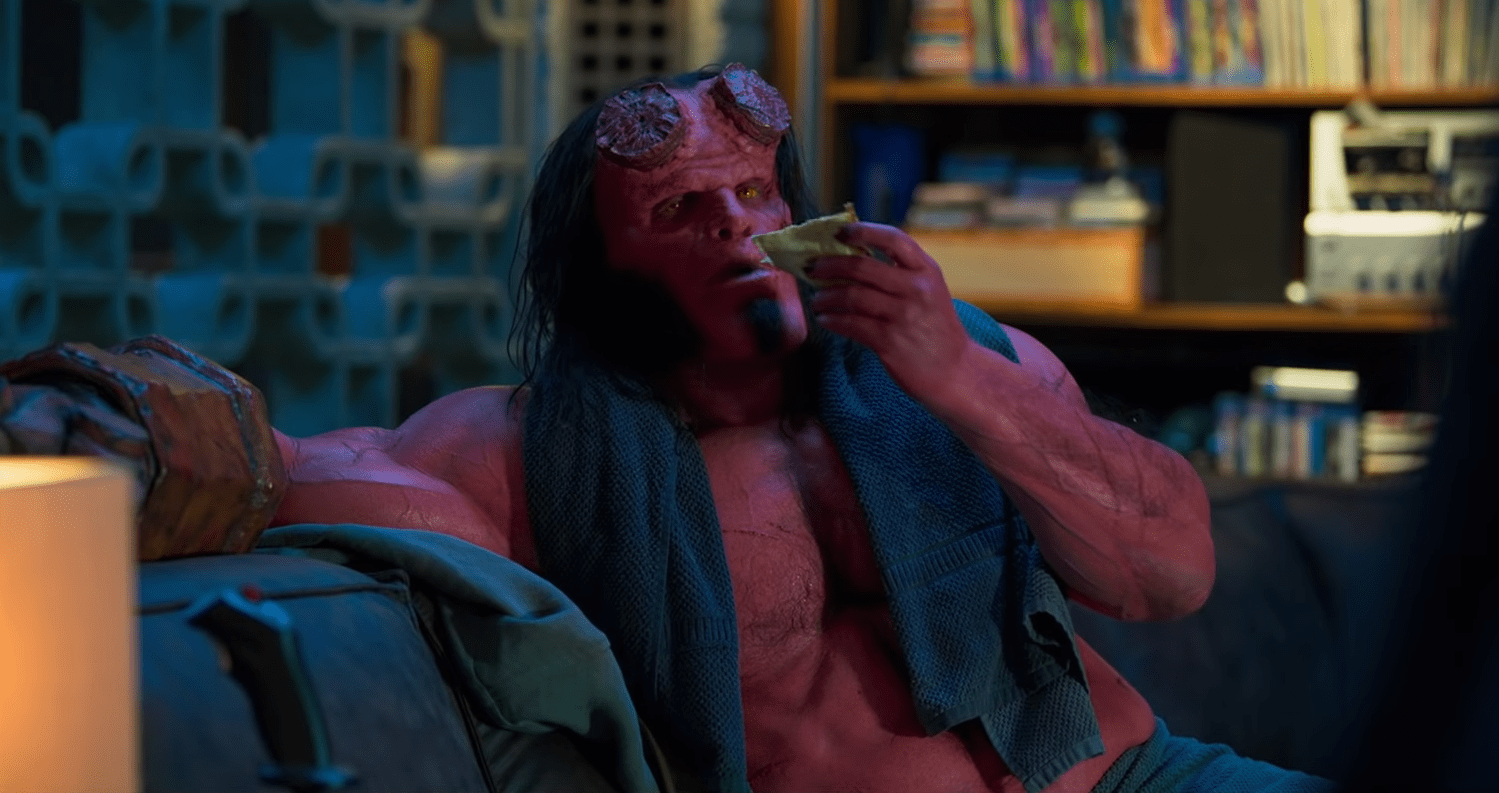 First clip from the Hellboy reboot released online
