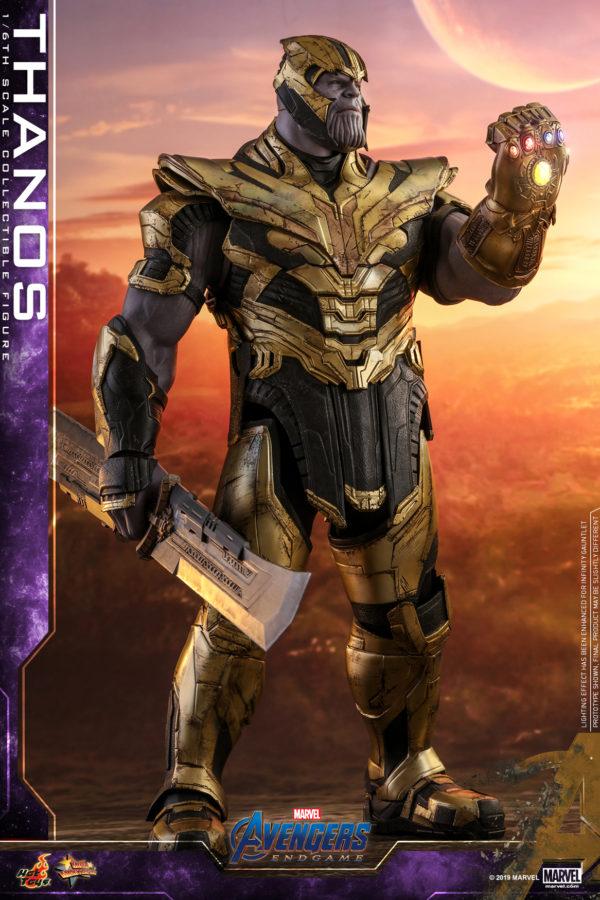 Hot Toys Unveils Its New Thanos Movie Masterpiece Series