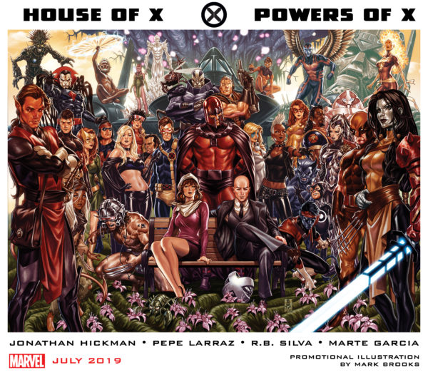 Marvel announces new X-Men series House of X and Powers of X