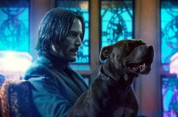 John Wick celebrates National Puppy Day with new promo