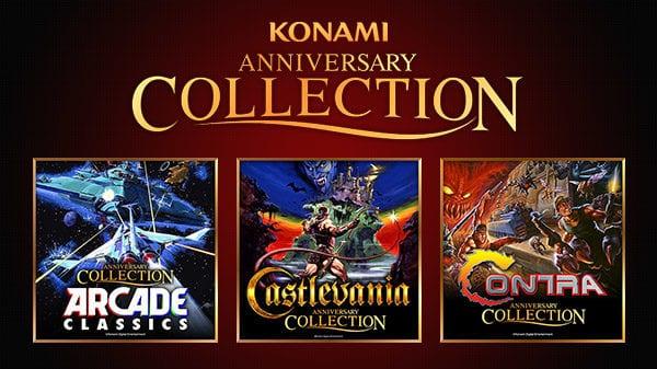 Konami announces Anniversary Collections for Castlevania, Contra and Arcade Classics
