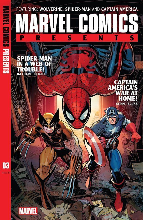 Comic Book Preview – Marvel Comics Presents #3