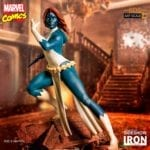 Mystique gets a Marvel Battle Diorama Series statue from Iron Studios