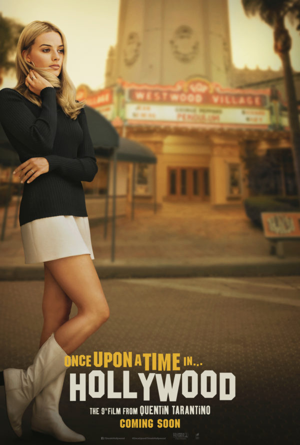 Margot Robbie is Sharon Tate on new Once Upon a Time in Hollywood poster