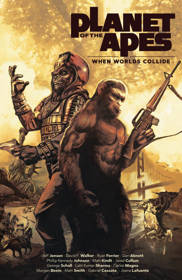 Comic Book Preview – Planet of the Apes: When Worlds Collide