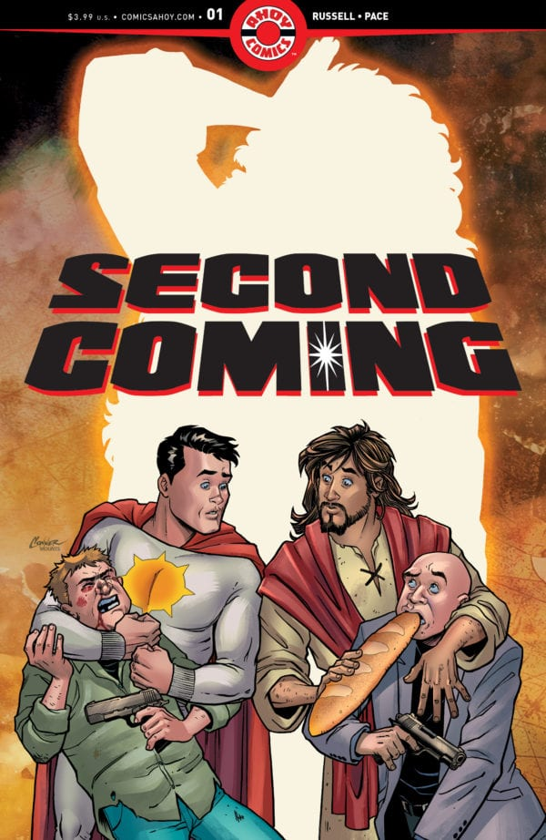 Controversial Jesus Christ superhero comic Second Coming finds a new home after DC cancellation