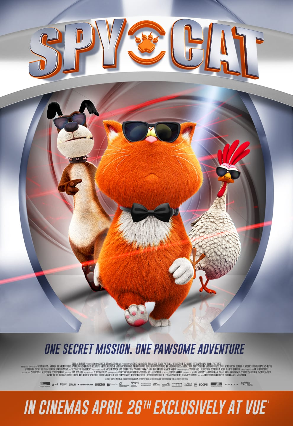 Animated comedy adventure Spy Cat gets a trailer and ... Hilarious Images For Facebook