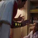 Shazam tries to protect his secret identity in new clip