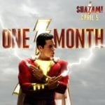 Shazam promo poster reminds us that the DC film is one month away