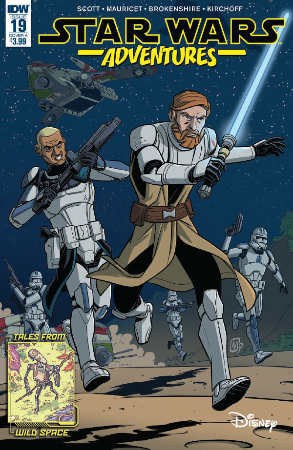Comic Book Preview – Star Wars Adventures #19