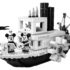 LEGO officially unveils the LEGO Ideas Steamboat Willie set