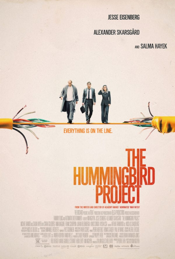 Movie Review – The Hummingbird Project (2018)