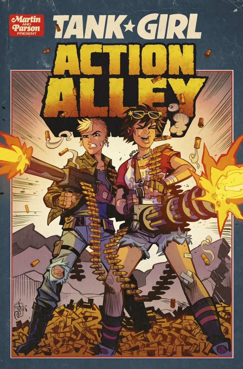 tank action alley comic take preview comics issue