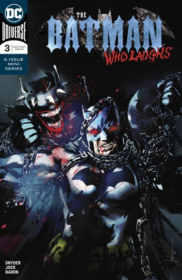 The Batman Who Laughs and Mister Miracle top bestselling comic books and graphic novels of February 2019