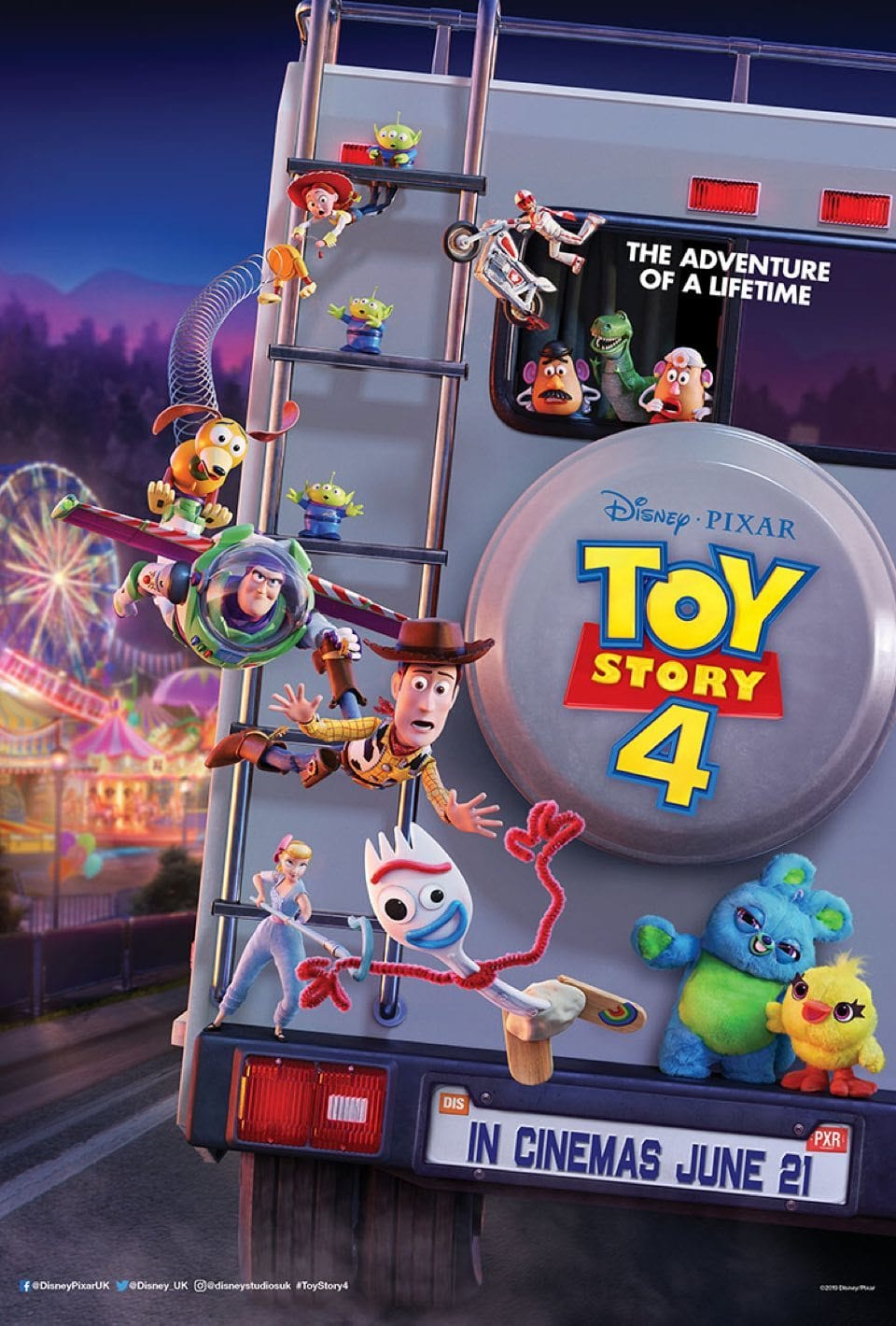 Toy Story 4 poster promises 'The Adventure of a Lifetime ...