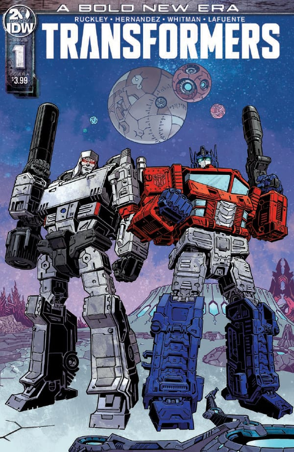 A bold new era begins in preview of Transformers #1