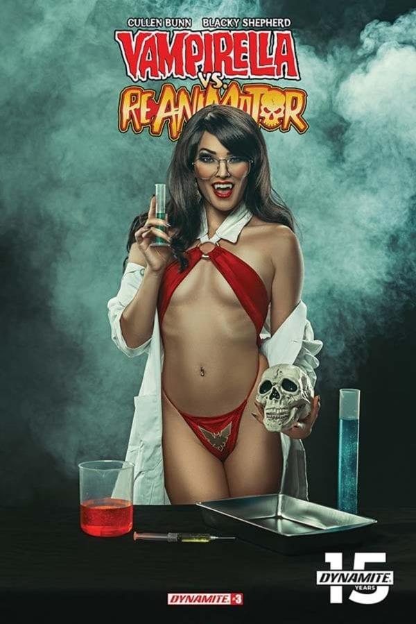 Comic Book Preview – Vampirella vs Reanimator #3