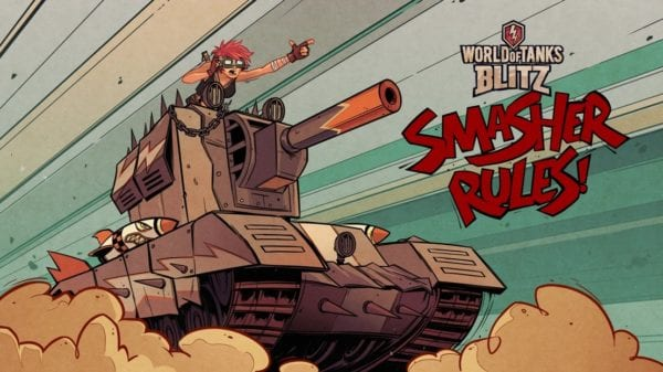 World of Tanks Blitz and Tank Girl come together to bring a