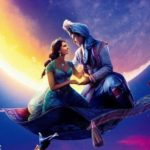 Aladdin and Jasmine take a magic carpet ride on new Aladdin poster