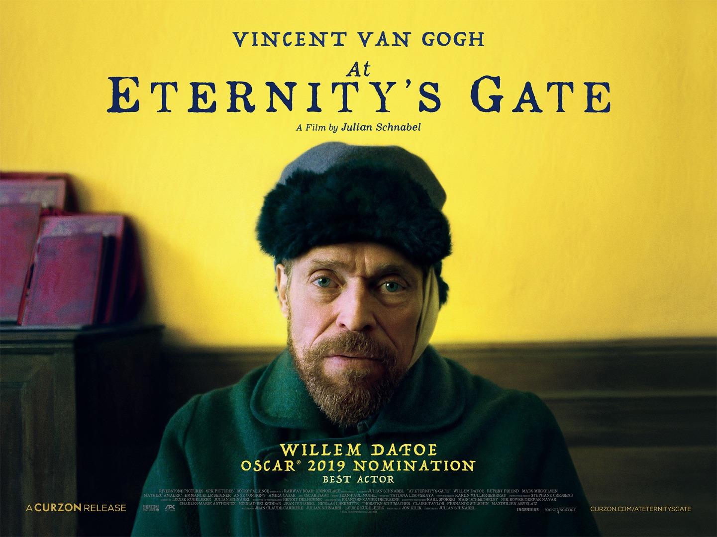Van Gogh az örökkévalóság kapujában - kritika