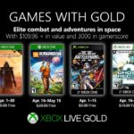 Xbox Games with Gold for April have been announced
