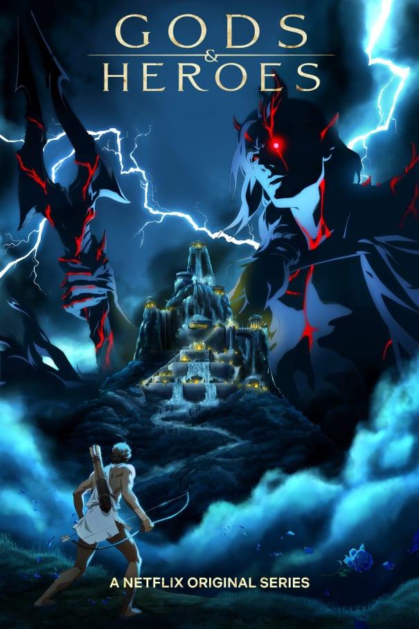 Greek mythology anime series