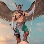 Iron Studios' Hawkman DC collectible statue available to pre-order now