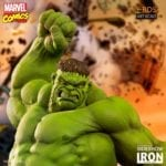 Iron Studios' Marvel Comics Battle Diorama Series Hulk statue available to pre-order