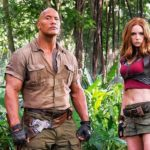 Dwayne Johnson and Karen Gillan featured in behind-the-scenes photo from Jumanji 3
