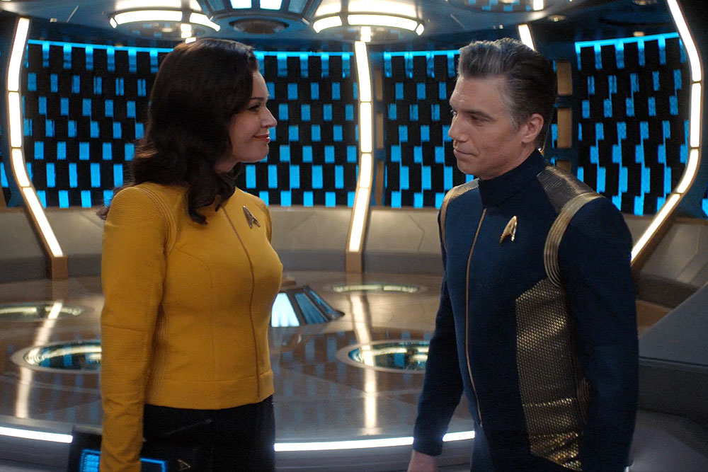 Anson Mount and Rebecca Romijn won't appear in Star Trek