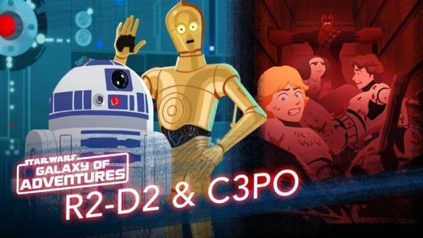 R2-D2 and C-3PO feature in latest Star Wars: Galaxy of Adventures animated short