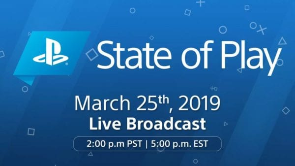 State of Play - New PlayStation Show With Announcements & More Launches On Monday