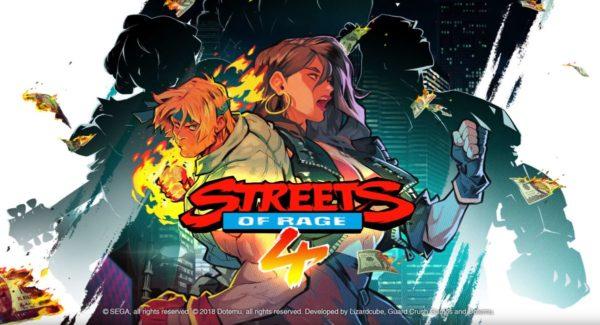First gameplay teaser trailer released for Streets of Rage 4