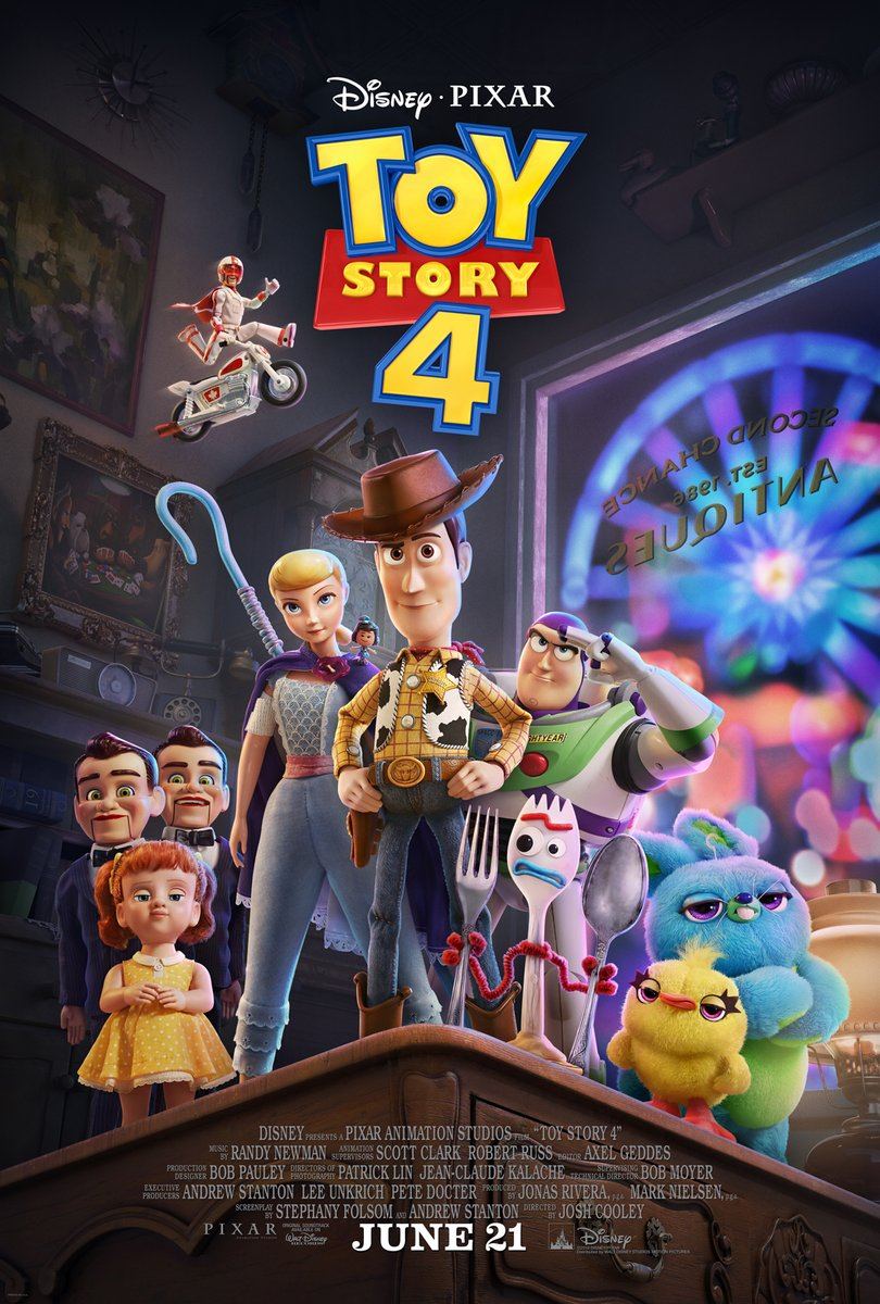 Movie Review – Toy Story 4 (2019)