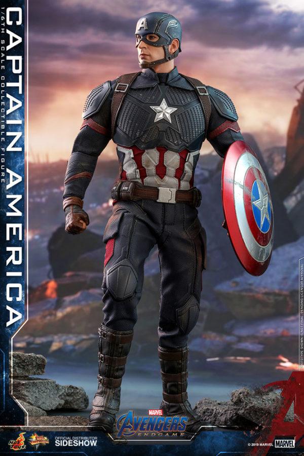 Hot toys 39 captain america movie masterpiece series figure from avengers endgame revealed - Image captain america ...