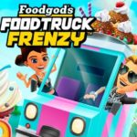 Match up puzzle game Foodgod's Food Truck Frenzy now on mobile devices