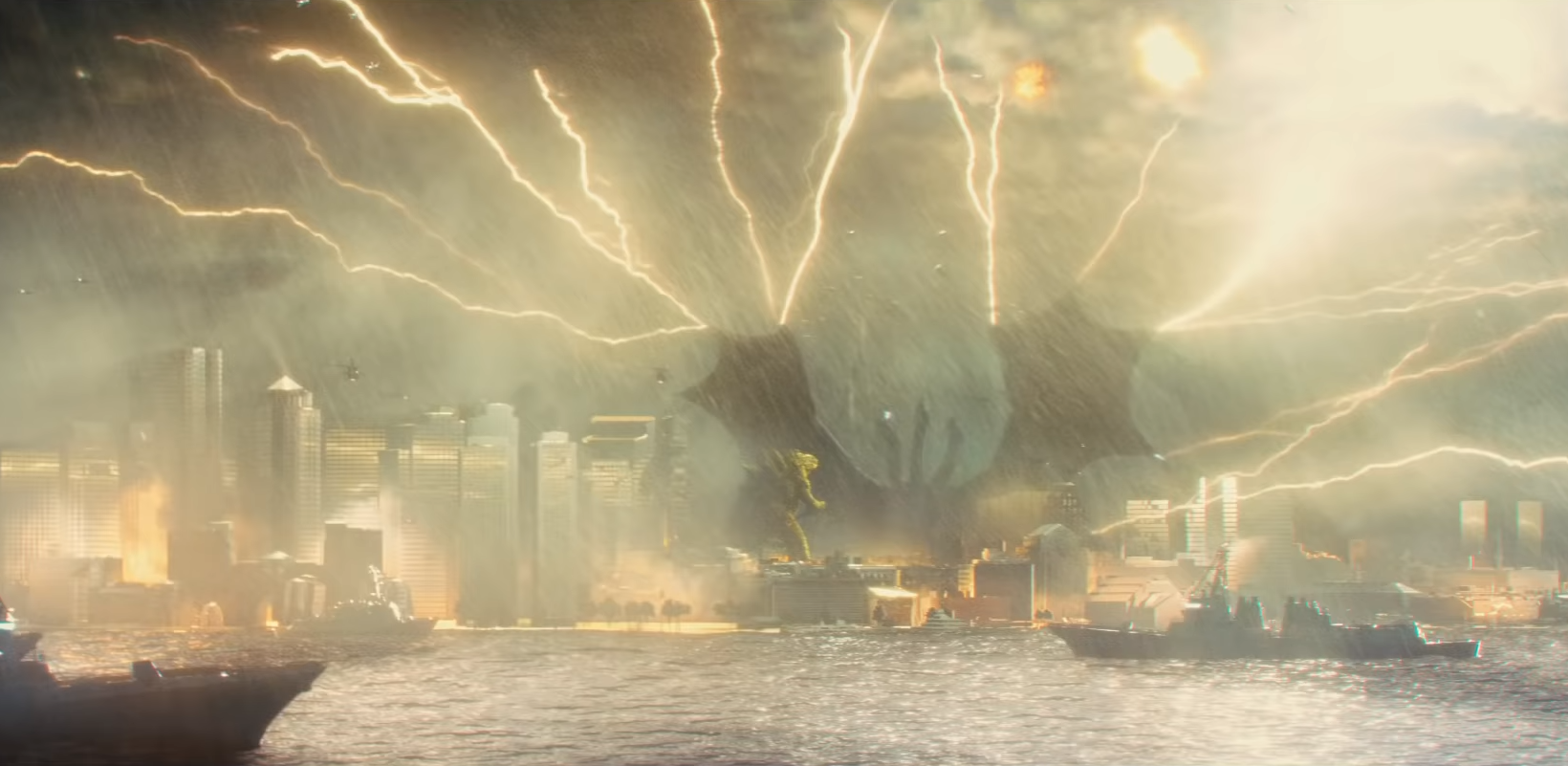 New TV spot for Godzilla King of the Monsters stomps online