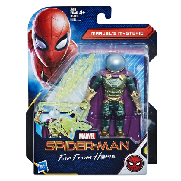 Hasbro S Spider Man Far From Home Action Figures Unveiled