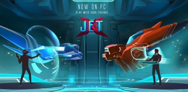 Racing shooter JetX out now on Steam