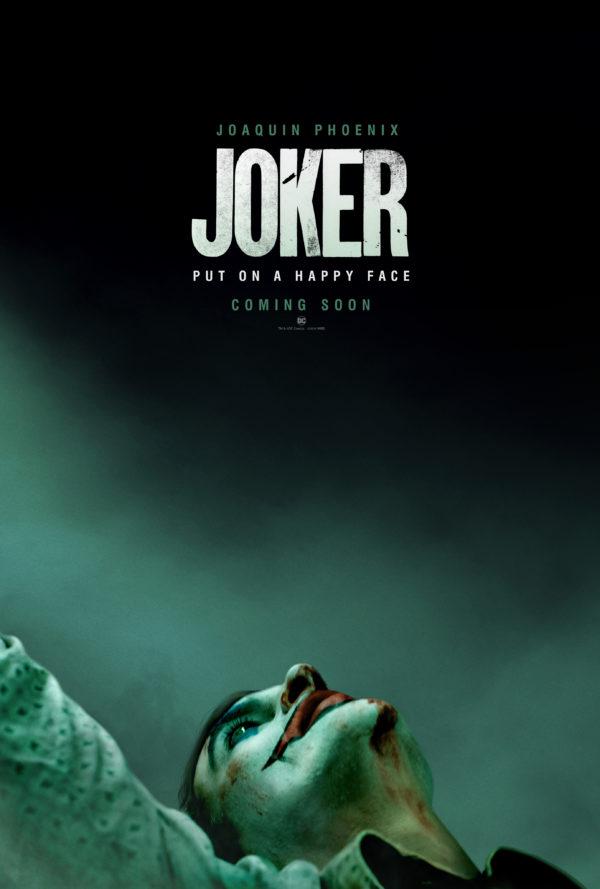 Joker gets a teaser poster ahead of Wednesday's first trailer