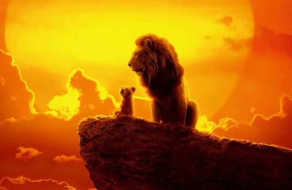 Mufasa And Simba Featured On The Lion King International Poster