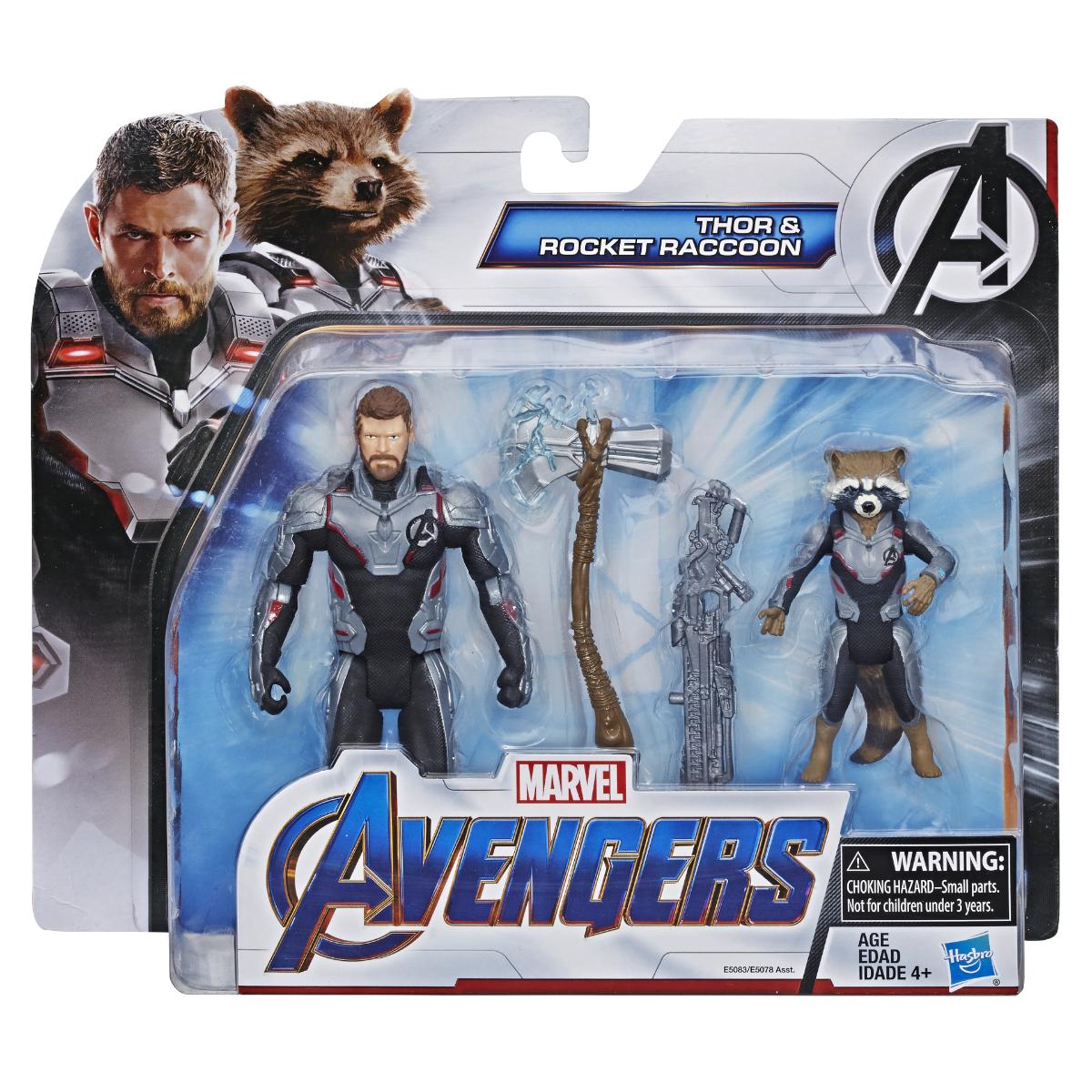 Marvel Vengadores Titan Hero Series Rocket Raccoon Figura Los Vengadores Nuevo