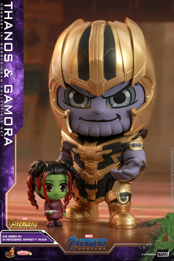 Avengers: Infinity War and Ant-Man and the Wasp get the Cosbaby treatment from Hot Toys